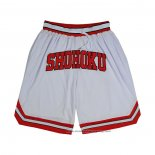 Shohoku Shorts White Red