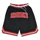 Shohoku Shorts Black Red